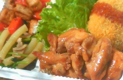 鶏照り焼き(Aセット)