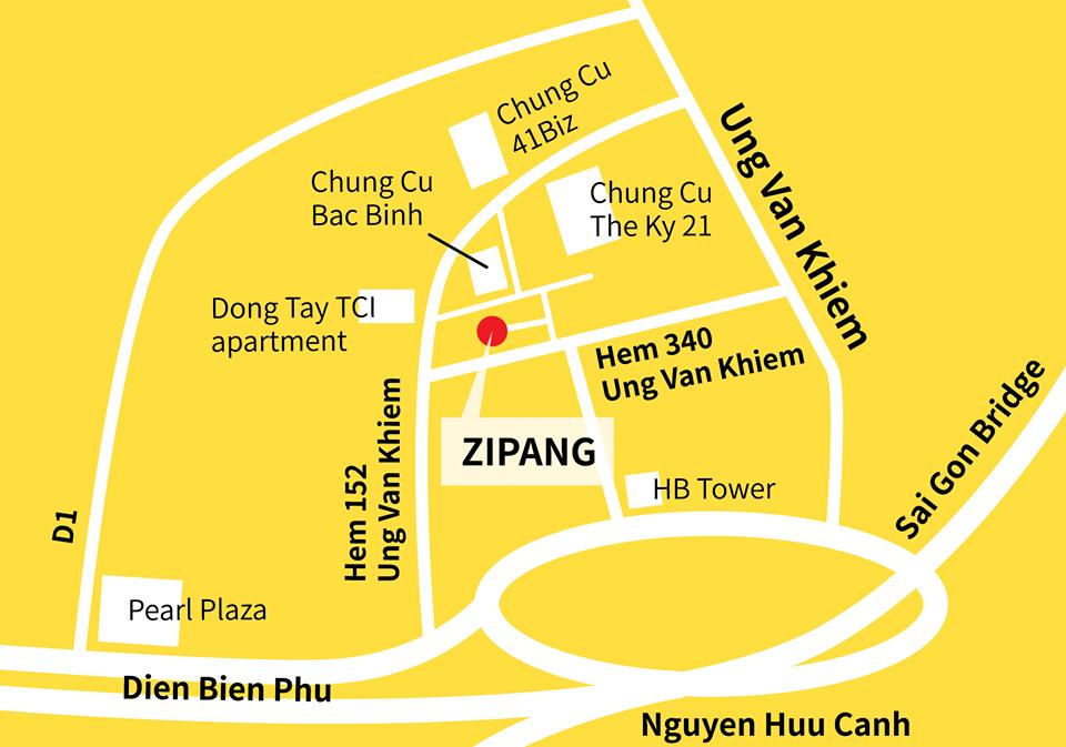 ZIPANG MAP