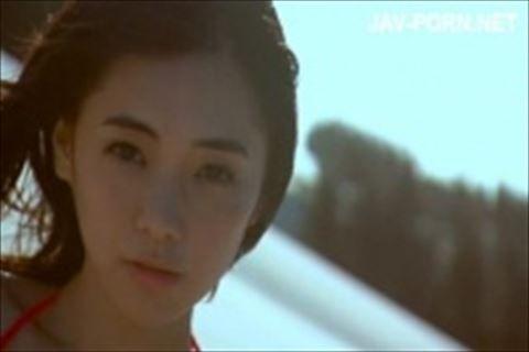【イメージビデオ】倉科カナのビキニ走りで上下に揺れまくるFカップ巨乳がたまらんイメージビデオ