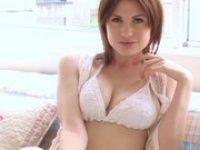 【xvideos】美しい白人巨乳美女の幻想的なビキニ姿のセクシーイメージビデオ