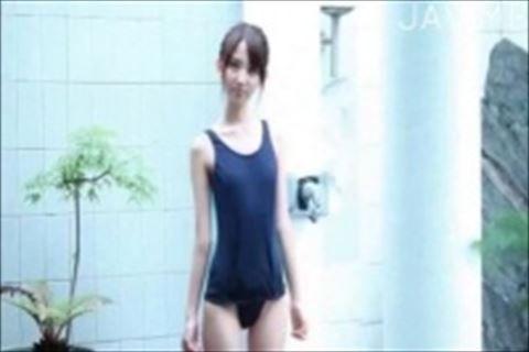 【神田るみ】パイパンで貧乳でガリガリな女性のイメージビデオ