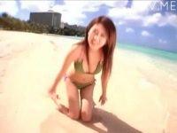 【xvideos】人見知りで童顔なお姉さんの着エロムービーなイメージビデオw水着姿がエロすぎてw