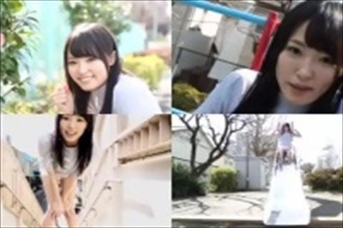 【柚月あい】巨乳美人のイメージビデオスケスケの下着がエロいよ