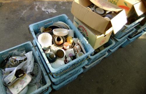 三雲リサイクルセンター 陶磁器類