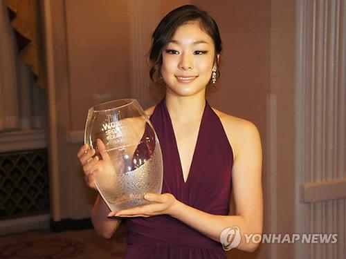 キムヨナ 2010スポーツウーマン・オブ・ザ・イヤー受賞の謎 1