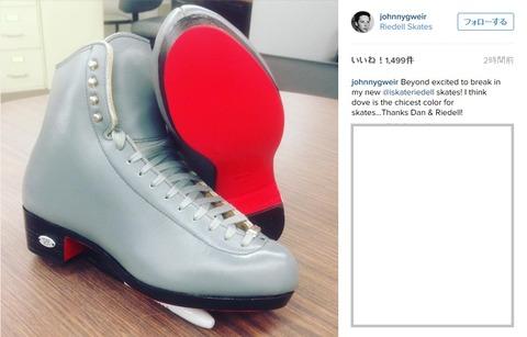 ジョニーの新しい靴 ライデル特注品