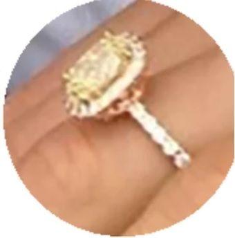 Meryl's engagement ring