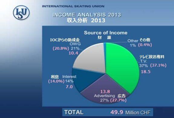 2013 収入分析
