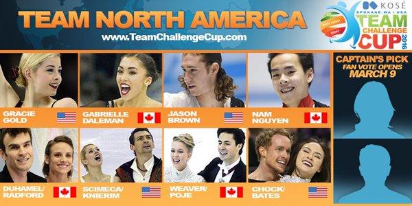チームチャレンジカップ北米チーム