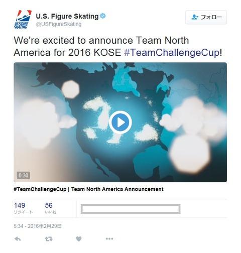チームチャレンジカップ 北米チーム発表