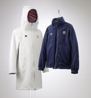 ウォームコート・トレーニングジャケット