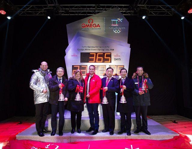 IOCバッハ会長は 平昌「あと1年イベント」に来なかった