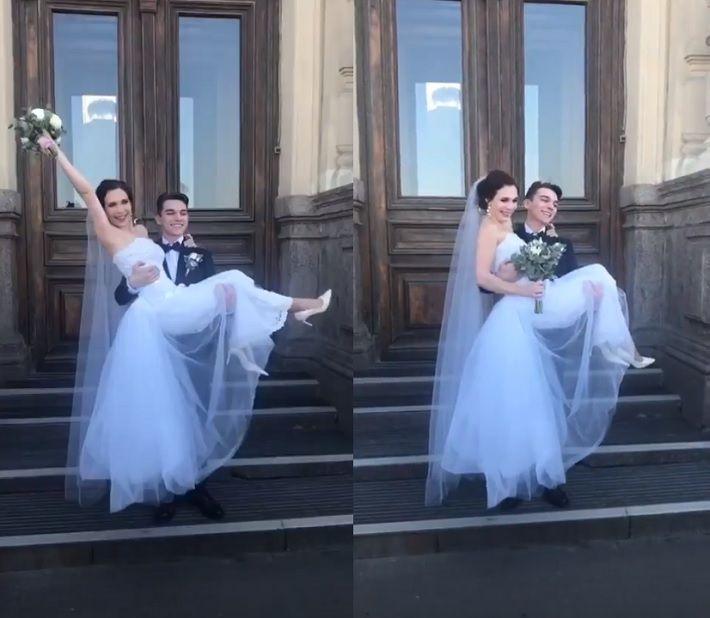 レオノワちゃん結婚2