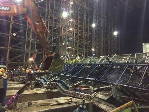 サムスン物産 ベトナムの建設現場で崩落事故!14人死亡