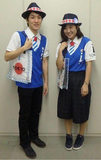 東京五輪ボランティアユニフォーム