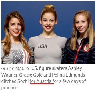 真央がアルメニアにいた時 アメリカ女子はオーストリアにいた