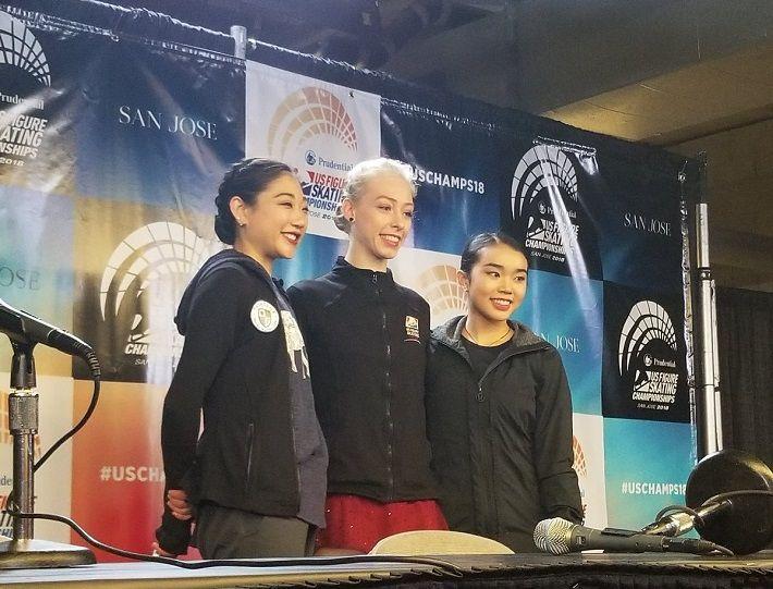2018全米女子SP勝者