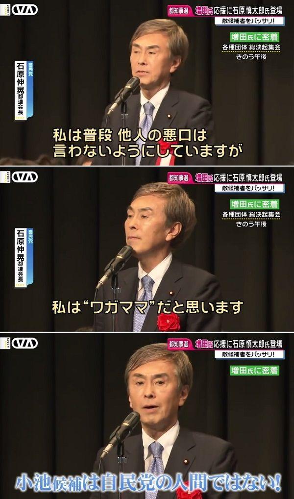 「責任者は谷垣幹事長」 石原伸晃は究極の卑怯者