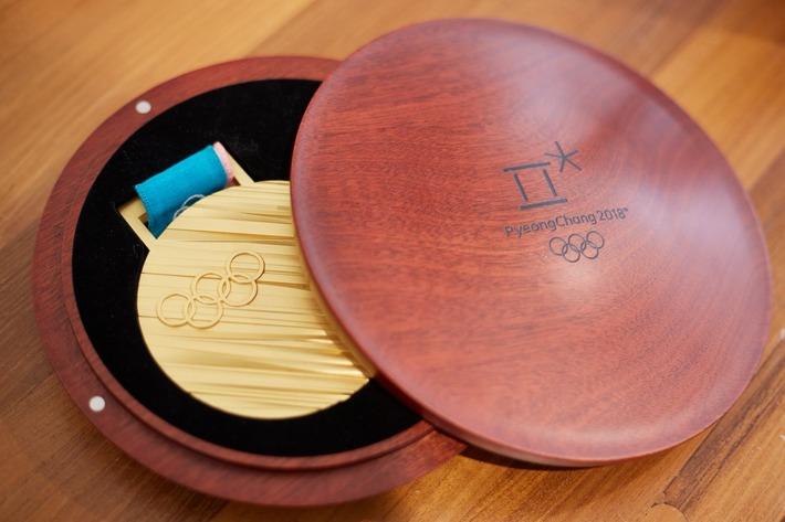 平昌のメダル メダルそのものよりもリボンが絶望的にダサい