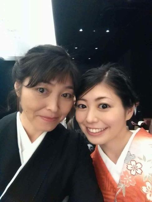 川崎歩さんとお母さん。