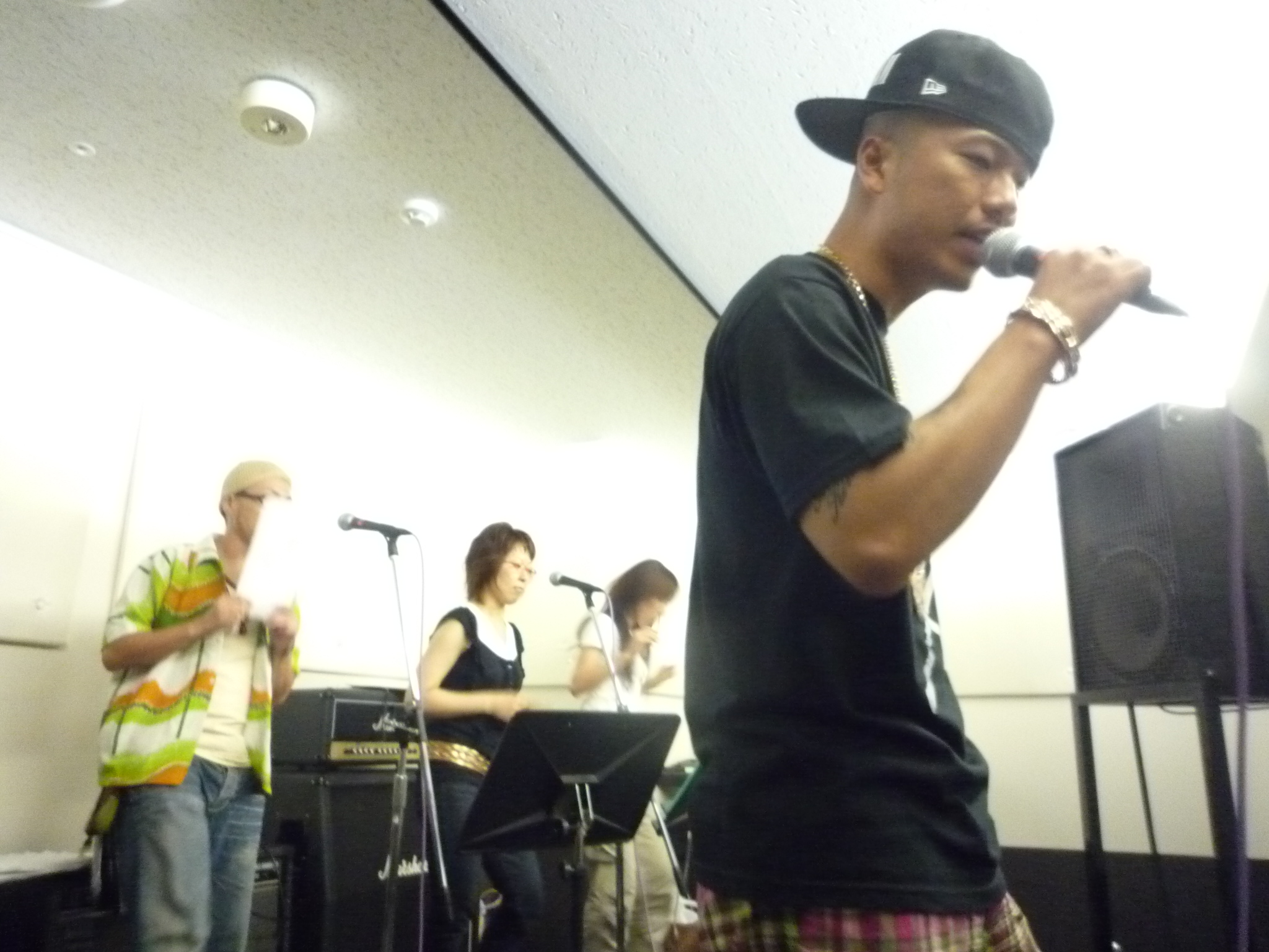コーラス隊 SECRET LOVEでお馴染み 尾崎真希さん率いるコーラス隊との打ち合...  l