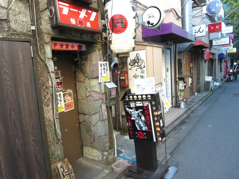 新宿ゴールデン街>