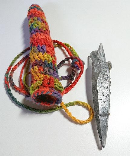Nさんヘンプ編み3