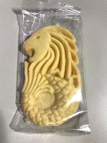 マーライオンのクッキー
