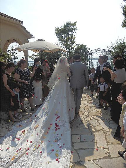 妹の結婚式12