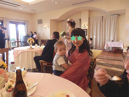 妹の結婚式24