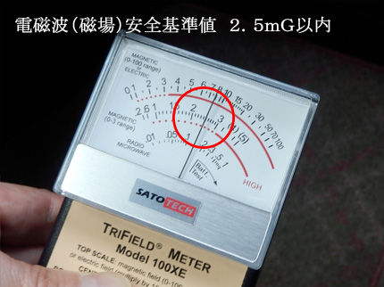 車の電磁波(磁場)2