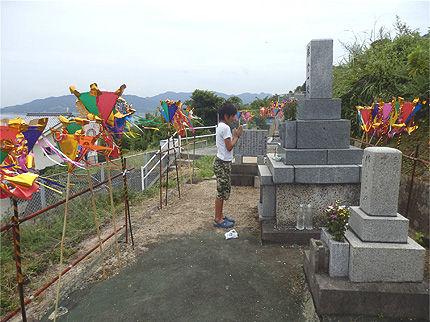 納骨式とお盆のお墓参り9