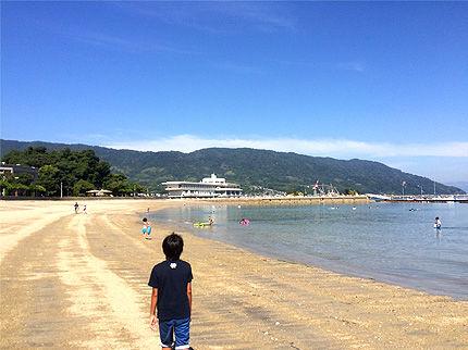 2016_0811今日の海水浴場1