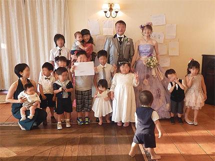 妹の結婚式25