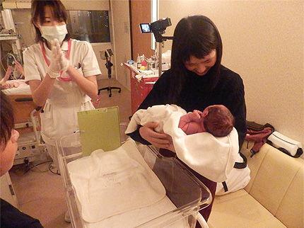 赤ちゃん出産37