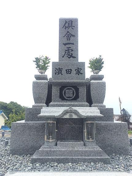 納骨式とお盆のお墓参り1