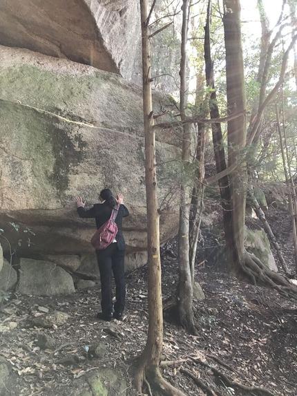 令和2年初詣_弥山巨石群5