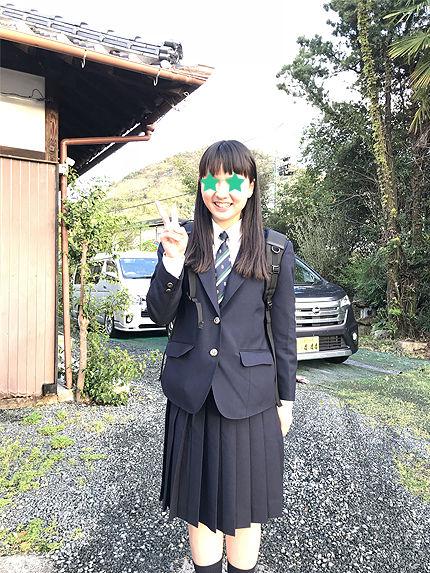 アイの高校入学式