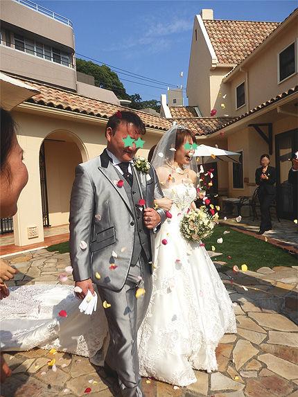 妹の結婚式1