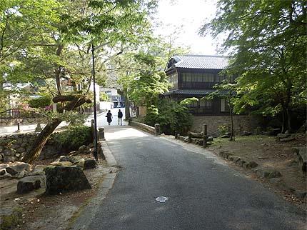 厳島参拝5月31紅葉谷方面へ