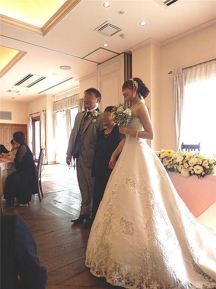 妹の結婚式19