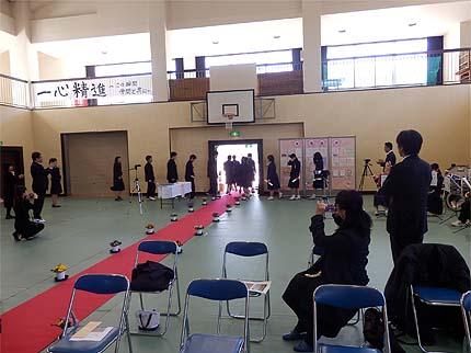 平成30年中学校卒業式12