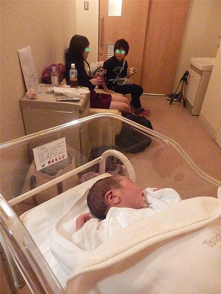 赤ちゃん出産44