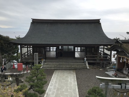 都久夫須麻神社10_竹生島龍神拝所