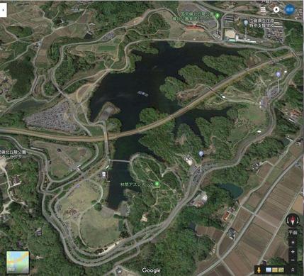 備北丘陵公園全体画像