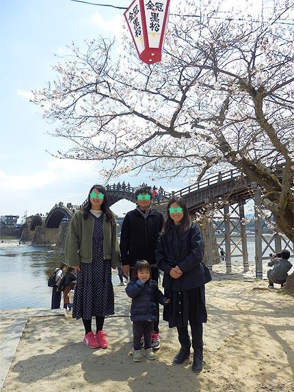 2019年錦帯橋花見4