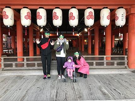 令和2年初詣厳島神社1