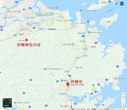 伊雑宮地図