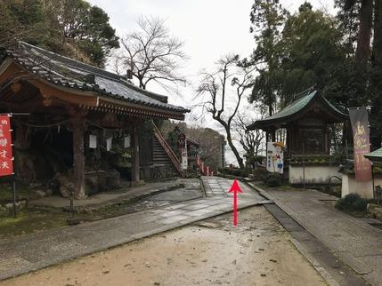 宝厳寺17_都久夫須麻神社へ