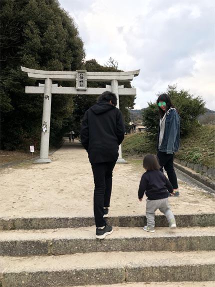 2019年初詣23八幡神社